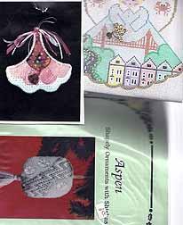 auction items, painted pony angel, sisha mirror, bargello needlepoint