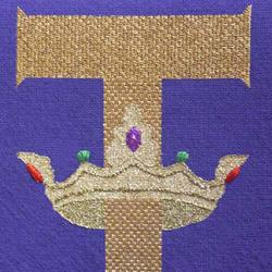 needlepoint kneeler