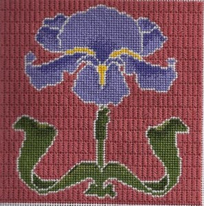 iris needlepoint shading class taught by needlepoint expert janet m perry