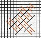 domi stitch for needlepoint