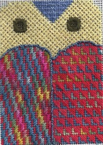owl needlepoint free project, designed by needlepoint expert janet m. perry