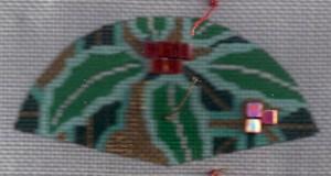 tila bead used in needlepoint