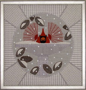 This Ann STrite-Kurz design is a wonderful example of charted needlepoint.