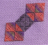 A simple quilt block can result in many patterns.