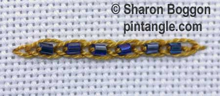 Learn 2 kinds of Chain Stitch in this tutorial