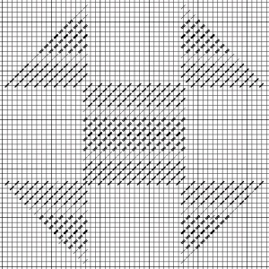 Needlepoint plaid, horizontal, copyright Napa Needlepoint