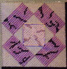free needlepoint sampler project, copyright Napa Needlepoint