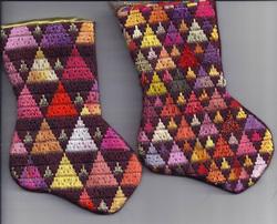 stash-buster needlepoint mini-socks