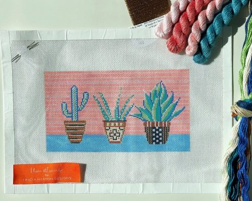 Needlepoint Designer Profiled