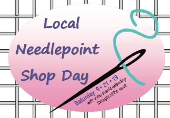 Raleigh's Local Needlepoint Shop Day