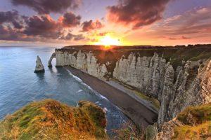Этрета, Нормандия, Франция.