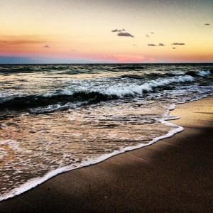 Ocean Sunset by Tim Carl