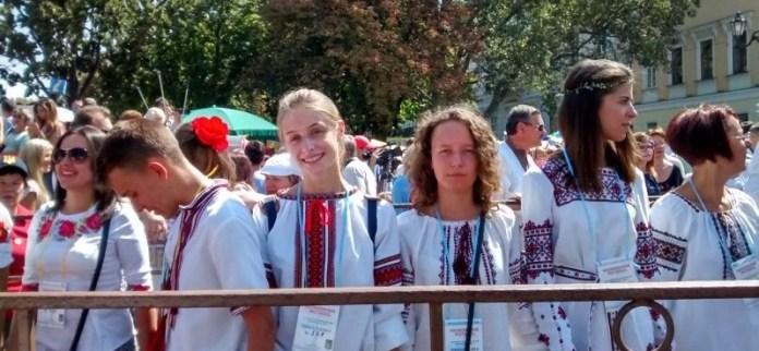 В Одессе установили вышиванковый рекорд (Фото)