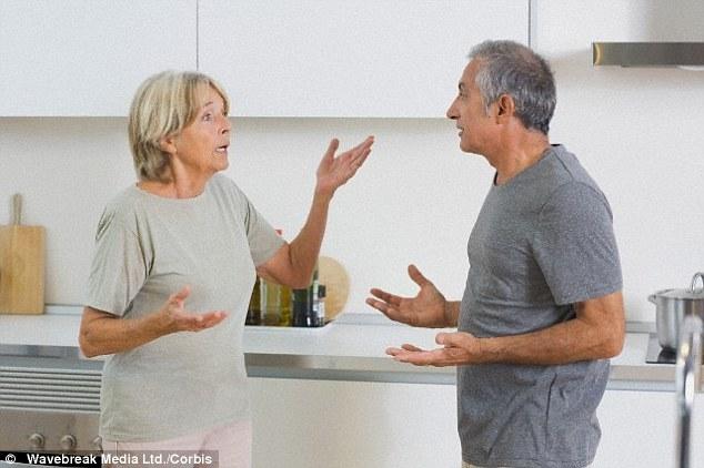 Жены страдают, когда их мужья выходят на пенсию
