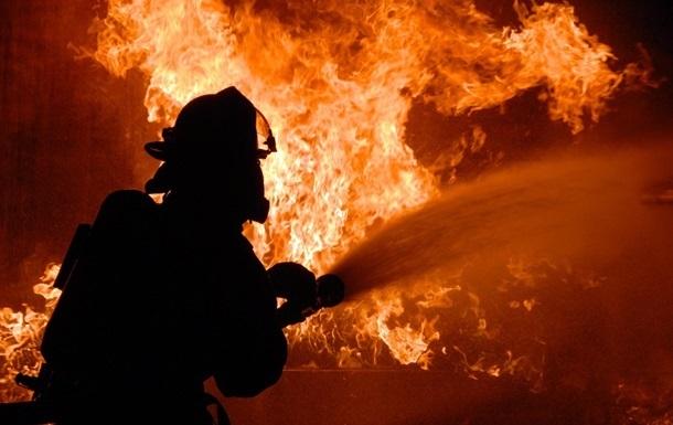 Киев: пожар в доме престарелых