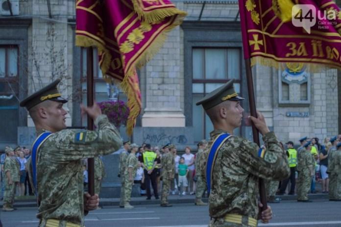 В Киеве отрепетировали парад ко Дню независимости