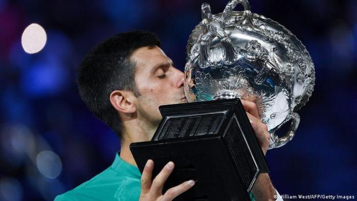 теннис Австралия 2021 Новак Джокович