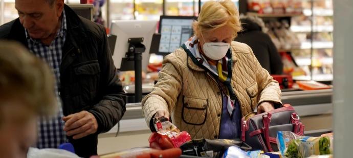 Украинца оштрафовали за то, что зашел в магазин без маски