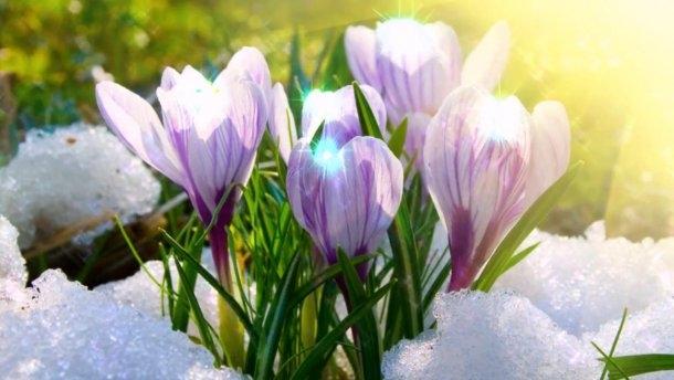 Когда придет весна?
