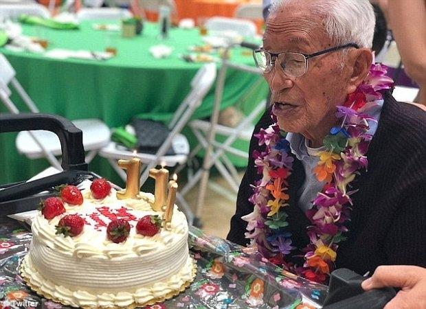 111-летний житель Лос-Анджелеса раскрыл секрет своего долголетия