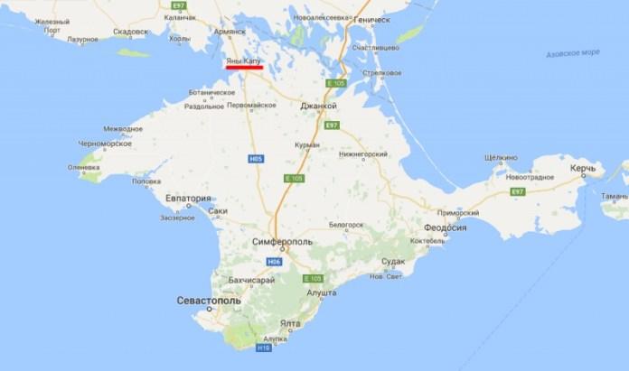 Google декоммунизировал крымские города