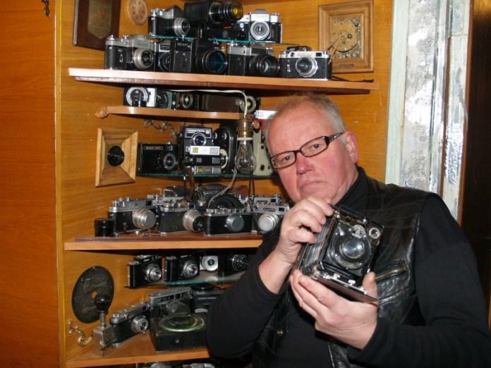 Владимир Рязанов: фотографией «болен» с детства