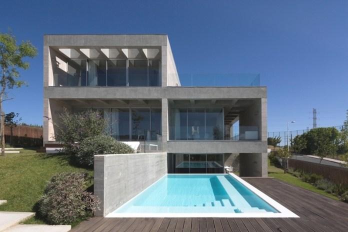 Минимализм в брутальном бетоне или необычное внутреннее оформление дома