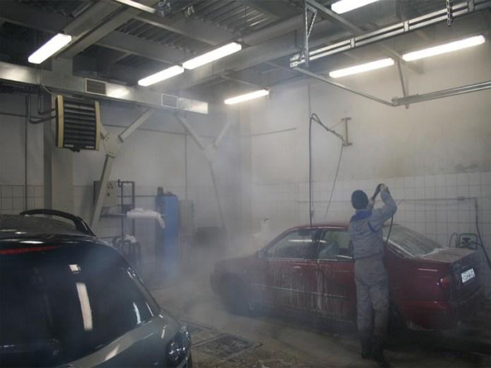 Отопление автомоек и СТО тепловентиляторами Volcano VR