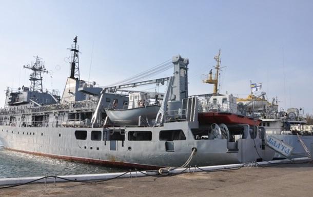 Корабель ВМС «Балта» в Одесі. Відновлять у найкоротший термін