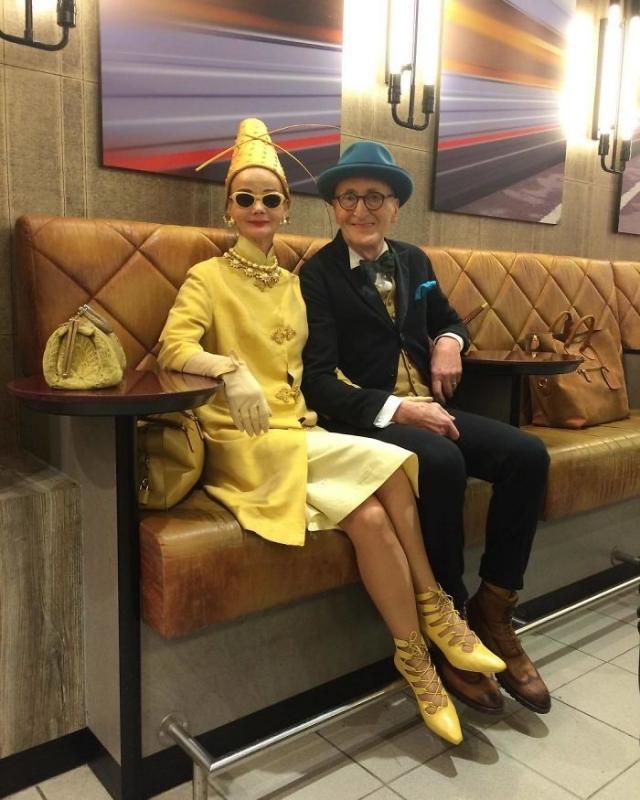 Пенсионеры из Германии покорили интернет стильными нарядами (ФОТО)