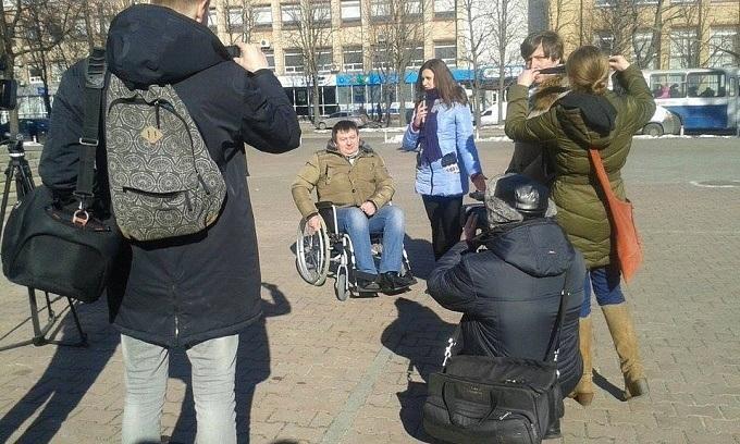 Черкасские депутаты стали «инвалидами» (ФОТО)