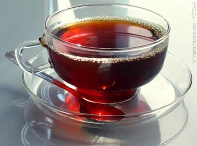 Черный чай не даст постареть