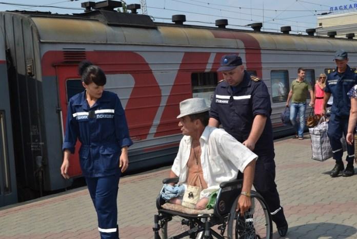 Жители Донбасса возвращаются домой