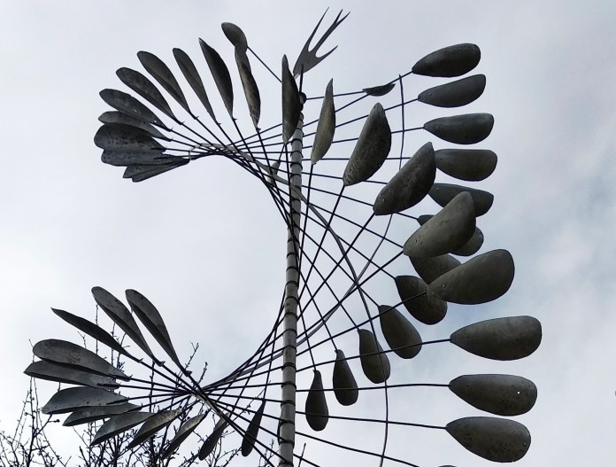арт-ветряк