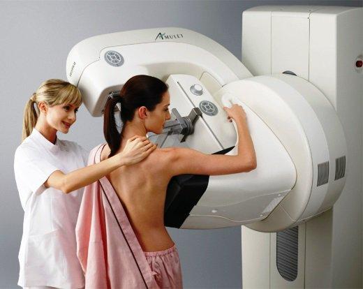 маммографическое обследование_