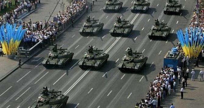 По Киеву проедут танки