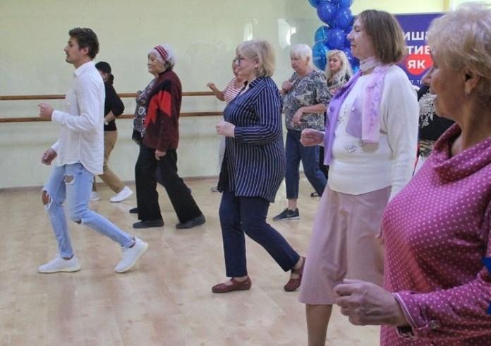 танцы с пенсионерами