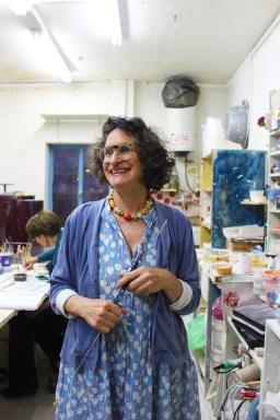Ceramics artist at Jerusalem House of Quality