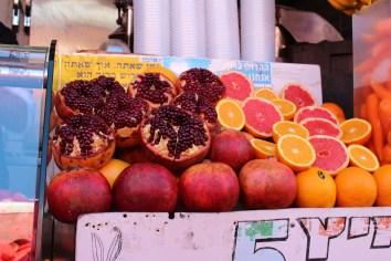 Carmel Market Pomegranates