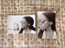 Photos that Sophie's dad, Arthur Elgort took of me that weekend.