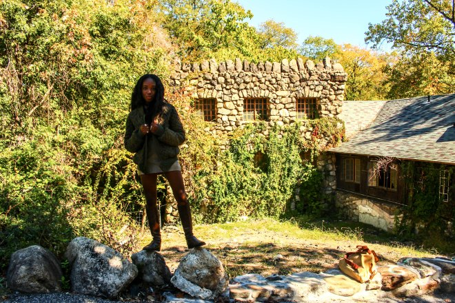 Nneya Richards - Abandoned Lodge at Bear Mountain