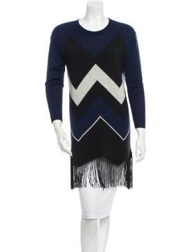 TIMO WEILAND KNIT FRINGE DRESS - I have this, I live in it. Trust me, this is a steal