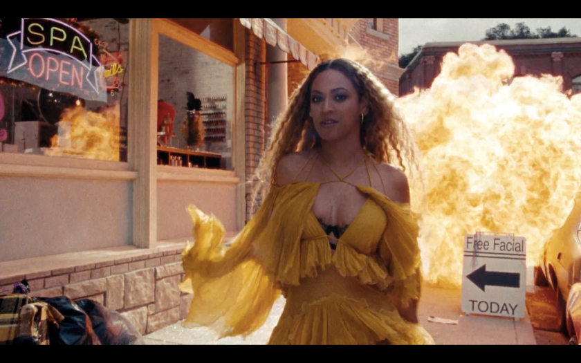 Beyonce in Kill Bill