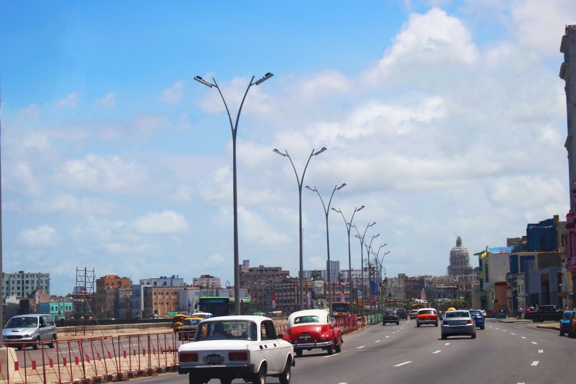Heading to Capital in Old Havana