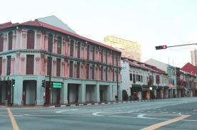 Chinatown shophouses in Singapore