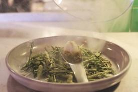 Hay Smoked Quail Egg