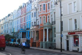 I believe I took this exact photo 4 years ago while wandering with my cousin at twilight in Notting Hill.