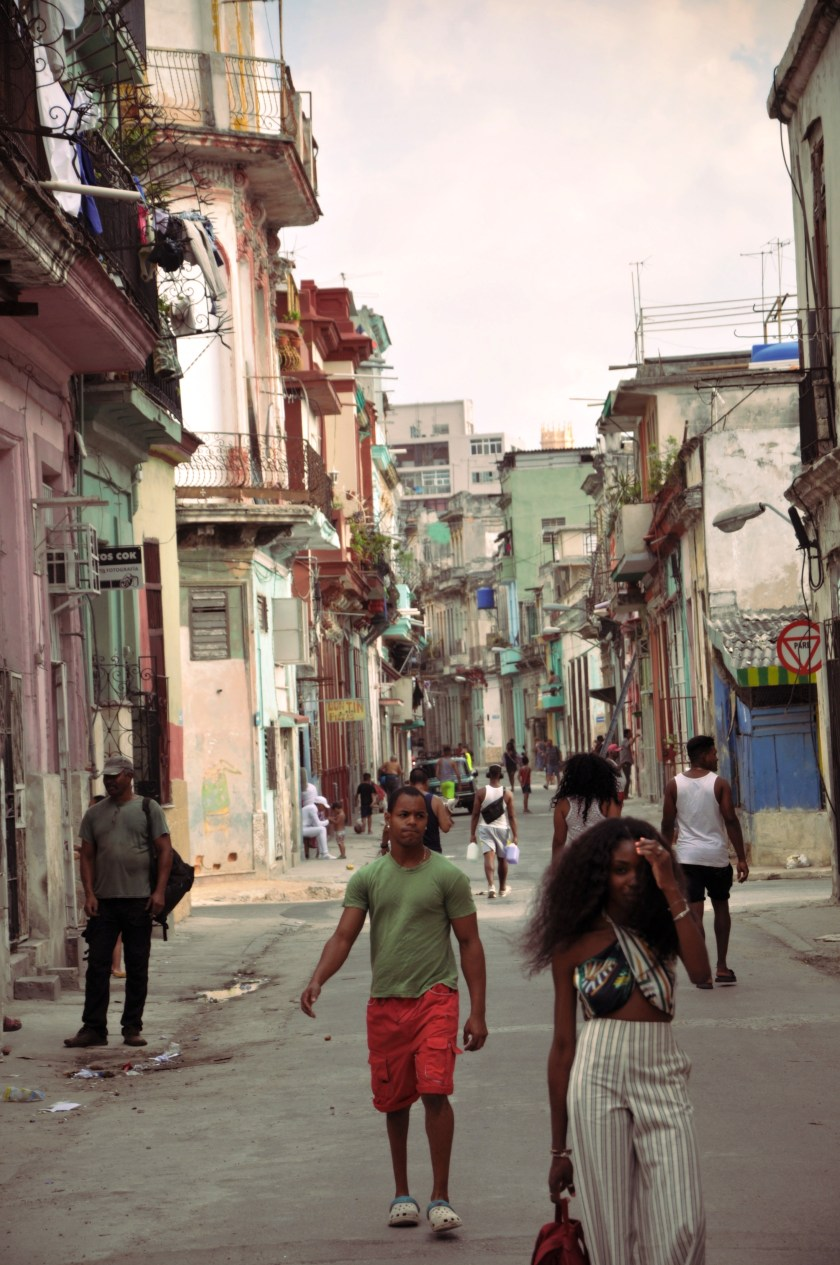 Nneya walking in centro habana by alistair morgan