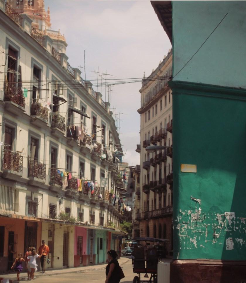 35 Centro Habana Side Street by Nneya Richards