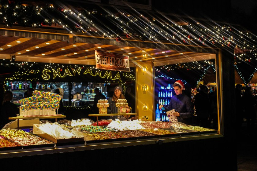 Winter Wonderland Candy Stand by Nneya Richards